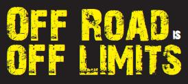 Off -road Is Off Limits Logo